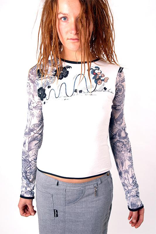 Marsupilami-Unikat-Shirt